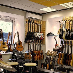 Музыкальные магазины Велегожа